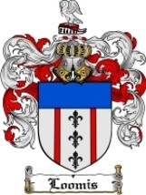Loomis Family Crest / Coat of Arms JPG or PDF Image Download - $6.99
