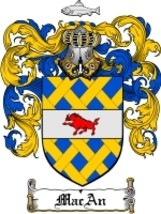 Macan Family Crest / Coat of Arms JPG or PDF Image Download - $6.99