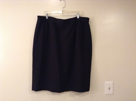 Black Knee Length Pencil Skirt size 24W