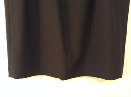 Black Knee Length Pencil Skirt size 24W image 4