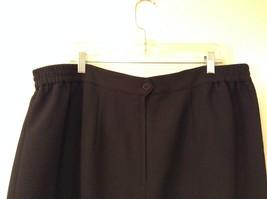 Black Knee Length Pencil Skirt size 24W image 5