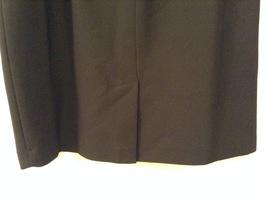 Black Knee Length Pencil Skirt size 24W image 6