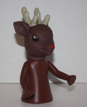 "Fibre Craft 6-1/2"" Reindeer Christmas Air Freshener Doll NEW HTF - $18.69"