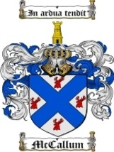 Mccallum Family Crest / Coat of Arms JPG or PDF Image Download - $6.99