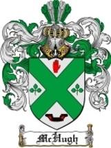 Mchugh Family Crest / Coat of Arms JPG or PDF Image Download - $6.99