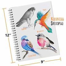 Glokers 33-Piece Drawing Art Set - Drawing Sketch Pad, Shading Pencils, Professi image 6