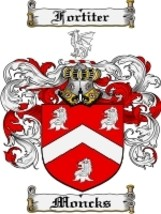 Moncks Family Crest / Coat of Arms JPG or PDF I... - $6.99