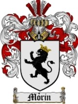 Morin Family Crest / Coat of Arms JPG or PDF Image Download - $6.99