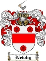 Newby Family Crest / Coat of Arms JPG or PDF Im... - $6.99