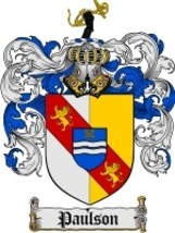 Paulson Family Crest / Coat of Arms JPG or PDF Image Download - $6.99