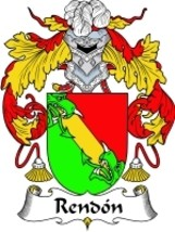 Rendon Family Crest / Coat of Arms JPG or PDF Image Download - $6.99