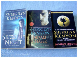 Gently Used 3 Sherrilyn Kenyon Novels - $9.00