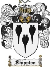 Shippton Family Crest / Coat of Arms JPG or PDF Image Download - $6.99