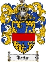 Totten Family Crest / Coat of Arms JPG or PDF Image Download - $6.99