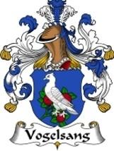 Vogelsang Family Crest / Coat of Arms JPG or PDF Image Download - $6.99