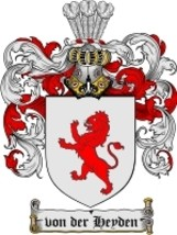 Vonderheyden Family Crest / Coat of Arms JPG or PDF Image Download - $6.99