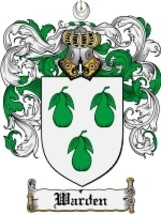 Warden Family Crest / Coat of Arms JPG or PDF Image Download - $6.99