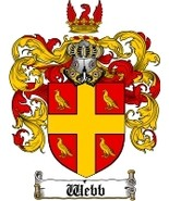 Webb Family Crest / Coat of Arms JPG or PDF Image Download - $6.99