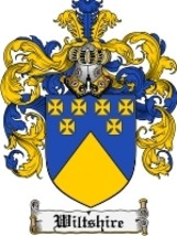 Wiltshire Family Crest / Coat of Arms JPG or PDF Image Download - $6.99