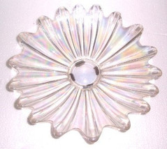 Vintage Depression Indiana Glass Carnival Glass Star Style Display Plate... - $58.99