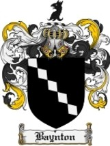 Baynton Family Crest / Coat of Arms JPG or PDF Image Download - $6.99