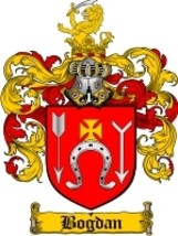 Bogdan Family Crest / Coat of Arms JPG or PDF Image Download - $6.99