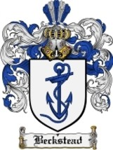 Beckstead Family Crest / Coat of Arms JPG or PDF Image Download - $6.99