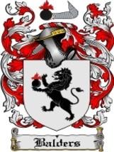 Balders Family Crest / Coat of Arms JPG or PDF Image Download - $6.99
