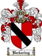 Beckering Family Crest / Coat of Arms JPG or PDF Image Download - $6.99
