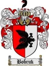 Bobruk Family Crest / Coat of Arms JPG or PDF Image Download - $6.99