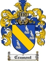 Crawmont Family Crest / Coat of Arms JPG or PDF Image Download - $6.99