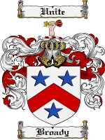 Primary image for Broady Family Crest / Coat of Arms JPG or PDF Image Download
