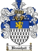 Primary image for Bromhall Family Crest / Coat of Arms JPG or PDF Image Download