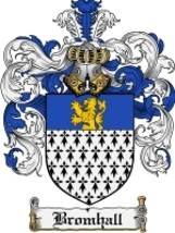 Bromhall Family Crest / Coat of Arms JPG or PDF Image Download - $6.99