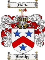 Primary image for Brothy Family Crest / Coat of Arms JPG or PDF Image Download