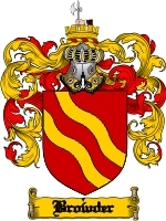Primary image for Browyer Family Crest / Coat of Arms JPG or PDF Image Download