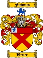 Primary image for Bruce Family Crest / Coat of Arms JPG or PDF Image Download