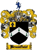 Primary image for Brumfield Family Crest / Coat of Arms JPG or PDF Image Download