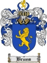 Bruns Family Crest / Coat of Arms JPG or PDF Im... - $6.99