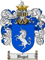 Primary image for Bugaj Family Crest / Coat of Arms JPG or PDF Image Download