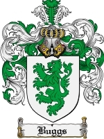 Primary image for Buggs Family Crest / Coat of Arms JPG or PDF Image Download