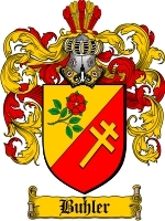 Primary image for Buhler Family Crest / Coat of Arms JPG or PDF Image Download