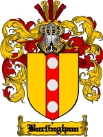 Primary image for Burlingham Family Crest / Coat of Arms JPG or PDF Image Download