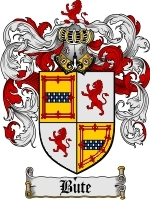 Primary image for Bute Family Crest / Coat of Arms JPG or PDF Image Download