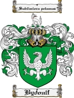 Primary image for Bydoulf Family Crest / Coat of Arms JPG or PDF Image Download