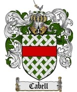 Cabell Family Crest / Coat of Arms JPG or PDF Image Download - $6.99
