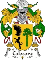 Primary image for Calasanz Family Crest / Coat of Arms JPG or PDF Image Download