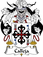 Primary image for Caleja Family Crest / Coat of Arms JPG or PDF Image Download