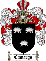 Primary image for Camargo Family Crest / Coat of Arms JPG or PDF Image Download