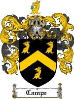 Primary image for Campe Family Crest / Coat of Arms JPG or PDF Image Download